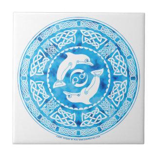Celtic Dolphins Tile