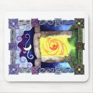 Celtic Doorway Mouse Pad