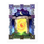 Celtic Doorway Postcard