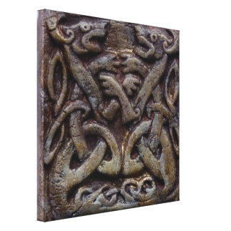 Celtic dragee ONS Canvas Print