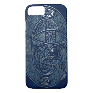 Celtic Dragon Blue iPhone 7 Case