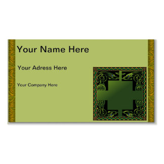 Celtic Dragon Business Card