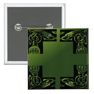 Celtic Dragon Pinback Buttons