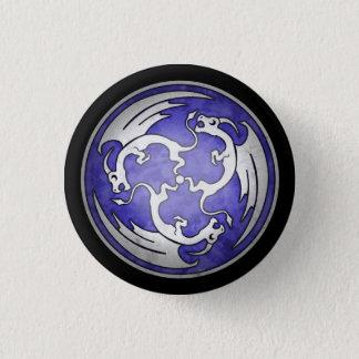 Celtic Dragon Button - Purple