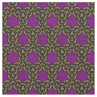 Celtic Dragon Chain Fine in Royal Purple Fabric