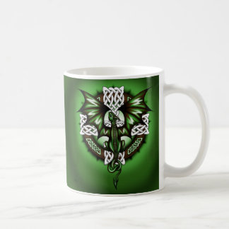 celtic Dragon Coffee Mug