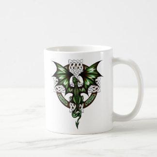 celtic Dragon Coffee Mug