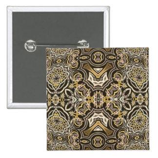 Celtic Dragon Delight Kaleidoscope Mandala Pins