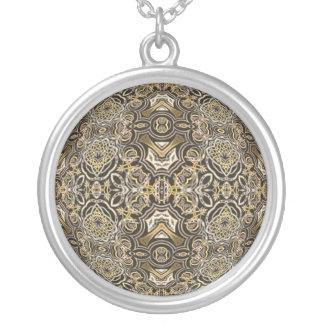 Celtic Dragon Delight Kaleidoscope Mandala Necklaces