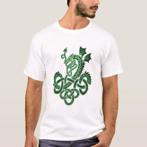 Celtic Dragon - Green