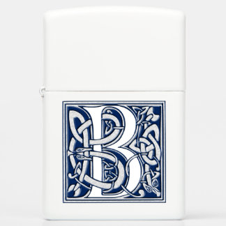 Celtic Dragon Initial B Zippo Lighter