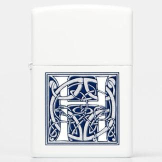Celtic Dragon Initial H Zippo Lighter