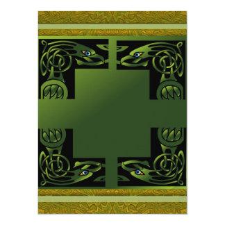 Celtic Dragon 5.5x7.5 Paper Invitation Card