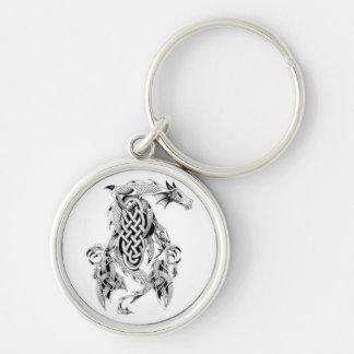 Celtic Dragon Keychain