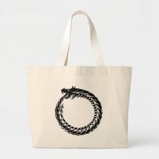 Celtic Dragon Large Tote Bag
