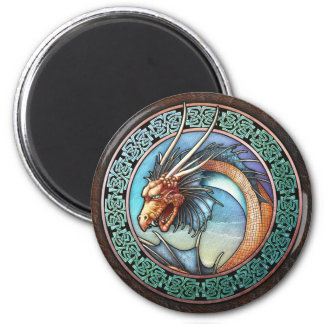 Celtic Dragon Magnet