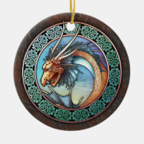 Celtic Dragon Pendant/Ornament