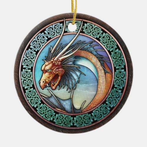 Celtic Dragon Pendant/Ornament