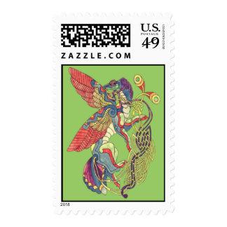 Celtic Dragon Postage Stamps