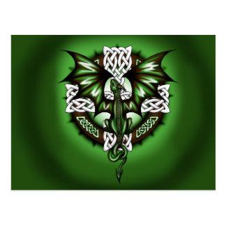celtic Dragon Postcard