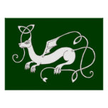 Celtic Dragon print