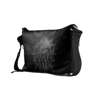 Celtic Dragon Rickshaw Messenger Bag