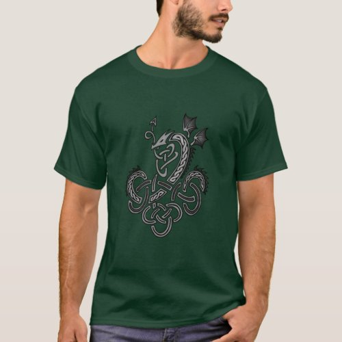 Celtic Dragon - Silver