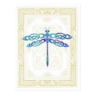 Celtic Dragonfly Postcards