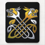 Celtic Dragons Mouse Pad