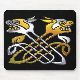 Celtic Dragons Mouse Pads