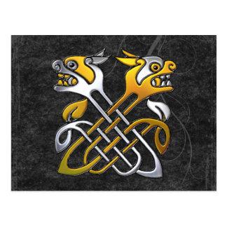 Celtic Dragons Postcard