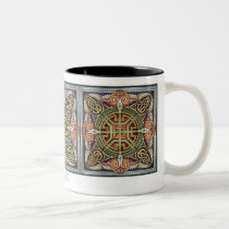 Celtic Eagle Squares Mug