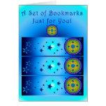Celtic Earth Orb Bookmark Card