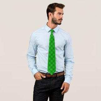 Celtic Earth Spirit Silk Foulard Tie