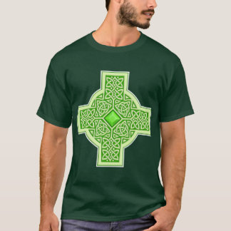 Celtic Emerald Cross T-Shirt