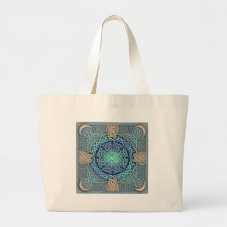 Celtic Eye of the World Canvas Bag