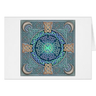 Celtic Eye of the World Greeting Cards