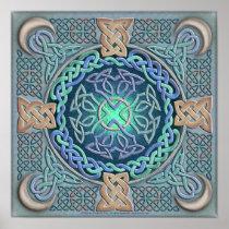 Celtic Eye of the World Fine Art Poster