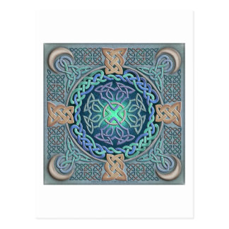 Celtic Eye of the World Postcard