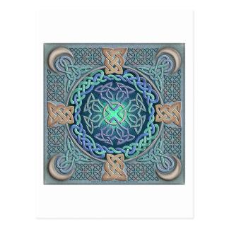 Celtic Eye of the World Postcard