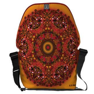 Celtic Fall Fairy Mandala Courier Bag