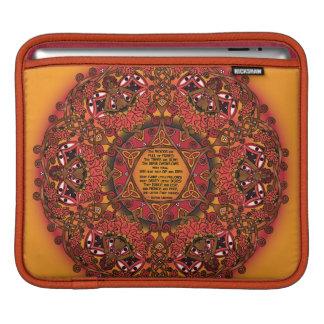 Celtic Fall Fairy Mandala iPad Sleeve