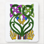 CELTIC FANTASY BIRD Design Mousepads