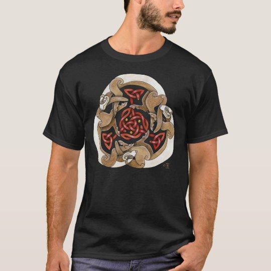 Celtic Ferret Triskel T-Shirt
