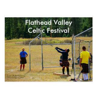 Celtic Festival Highland Games Postcard
