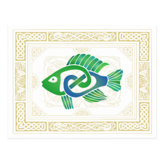 Celtic Fish Postcards