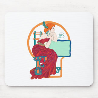 Celtic Flame Mouse Pad