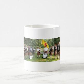 Celtic Flame Pipe Band Coffee Mug