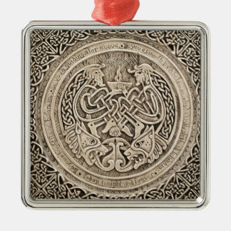 CELTIC FLAME -VINTAGE CELTIC DESIGN METAL ORNAMENT