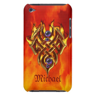 Celtic Flames Fire Barely There iPod Case